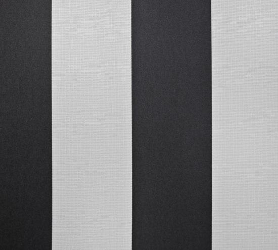 Dutch Wallcoverings Vliesbehang streep - zwart/wit