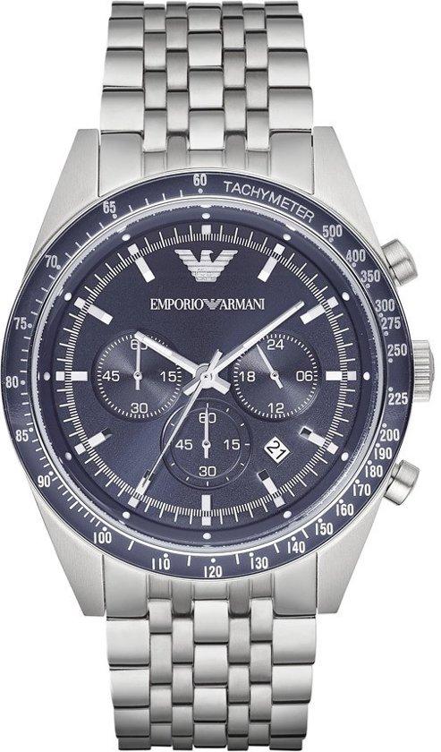 Emporio Armani AR6072 Tazio horloge