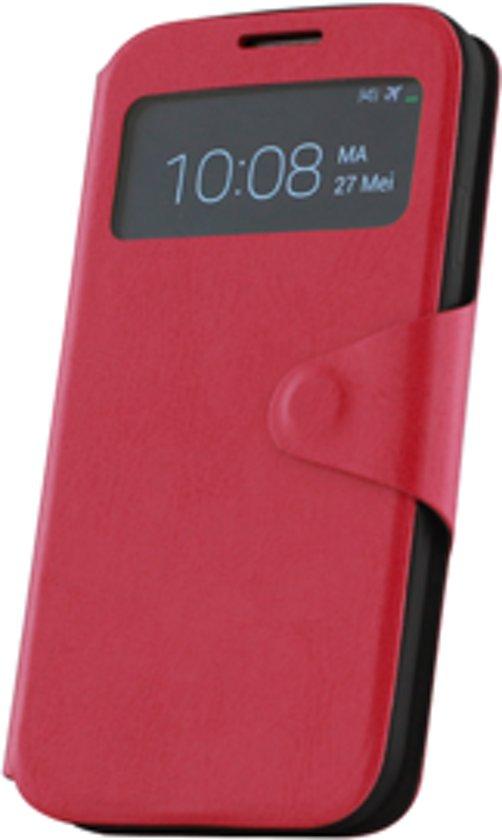 Samsung Galaxy S4 i9500 Window hoesje Roze