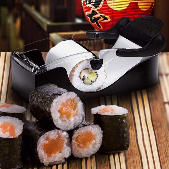 MikaMax Sushi Maker Eenvoudig sushi rollen 20x8x6cm