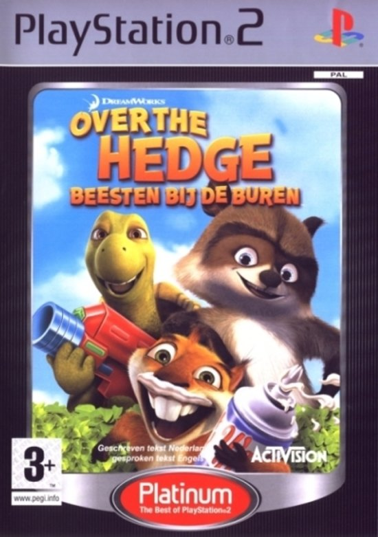 Over The Hedge - The Game