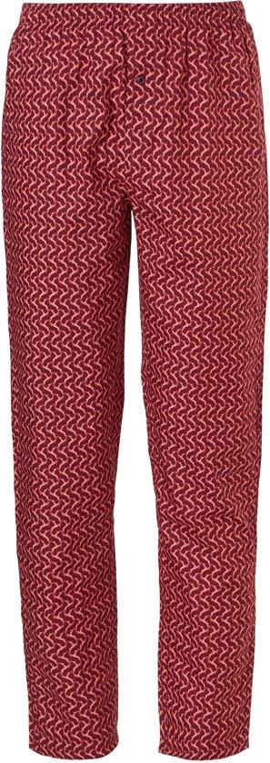 Ten Cate Heren Wijde Pyjamabroek Rood-S (4)