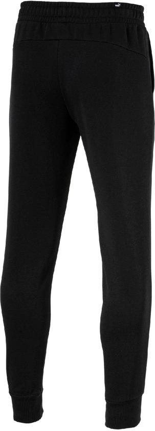 PUMA ESS+ Slim Pants FL Joggingbroek Heren Cotton Black