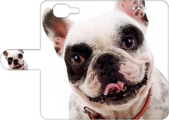 Exclusief Cover voor de Wiko Highway, Hond design in Boksum