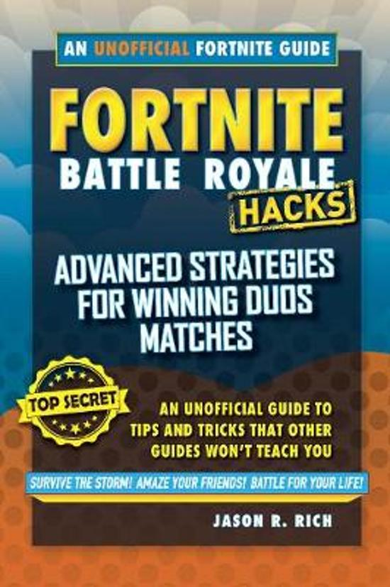 Boek cover Fortnite Battle Royale Hacks van Jason R. Rich (Onbekend)