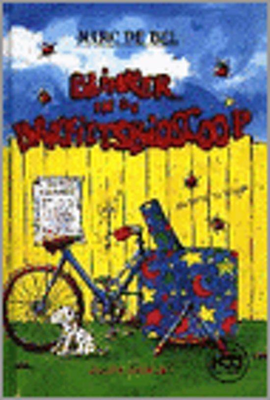 Boek cover Blinker en de bakfietsbioscoop van Marc de Bel (Hardcover)