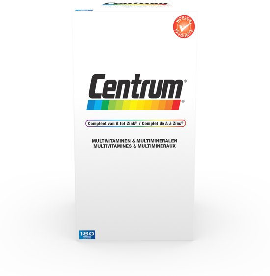 Centrum Adult - 180 Tabletten - Multivitaminen