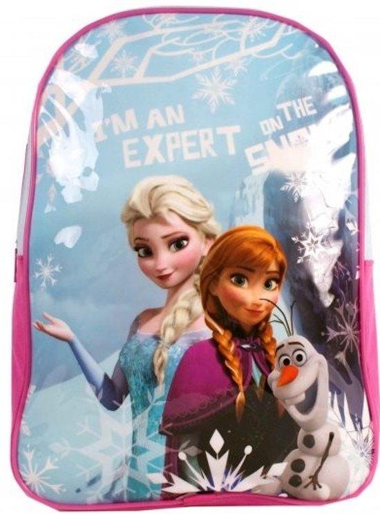 030c46aacb7 bol.com | Disney Frozen Anna, Elsa & Olaf Rugzak - Kinderen - Roze