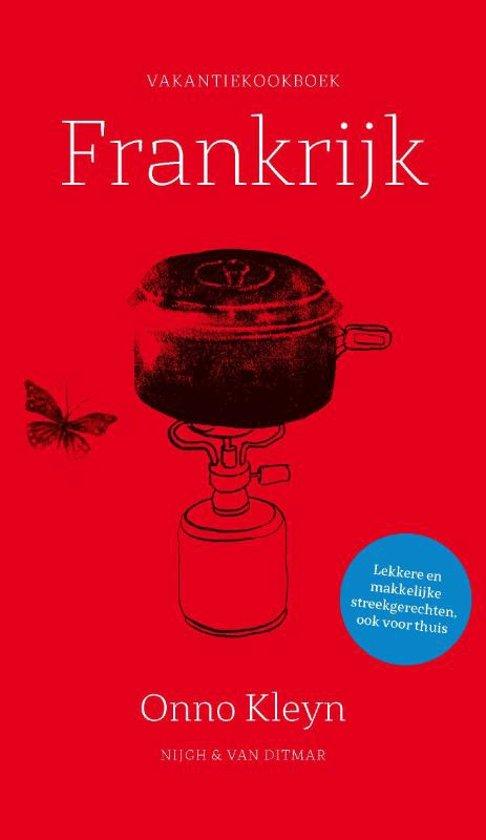 Boek cover Vakantiekookboek Frankrijk van Onno Kleyn (Paperback)