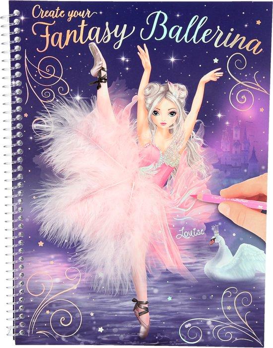 TOPModel Create your Fantasy Ballerina kleurboek, Ballet