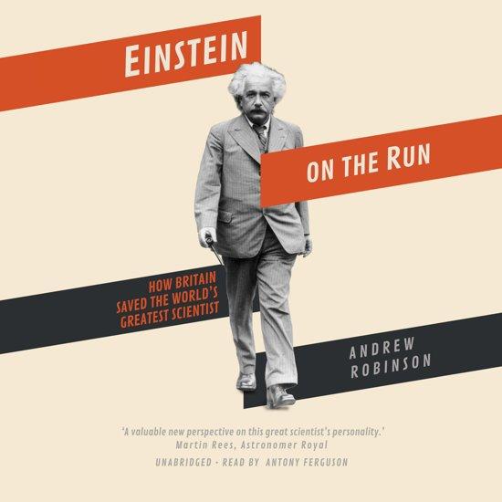 Boek cover Einstein on the Run van Andrew Robinson (Onbekend)