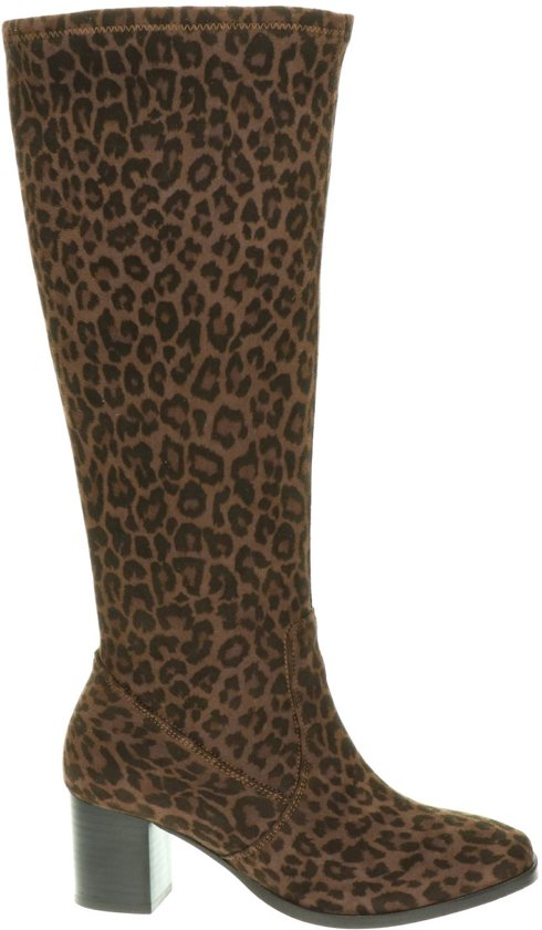 JJ Footwear Rabat XL dames laars Bruin multi Maat 39