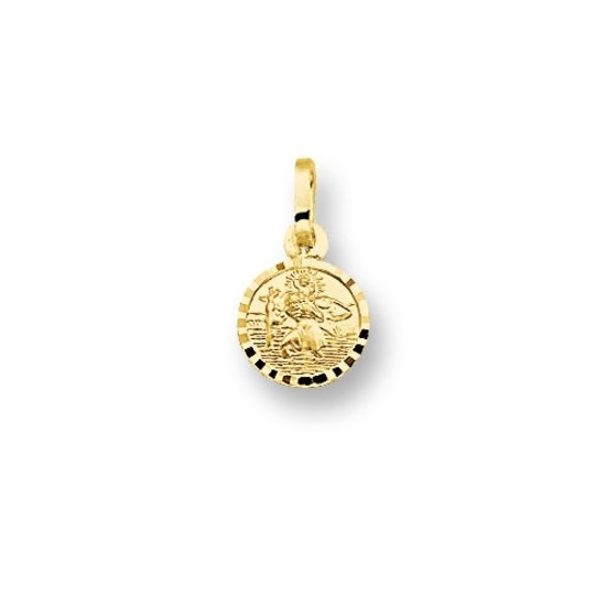Huiscollectie 4001574 Gouden bedel Christoffel