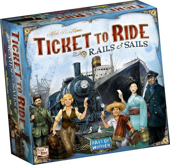 Afbeelding van het spel Ticket to Ride Rails & Sails - Bordspel