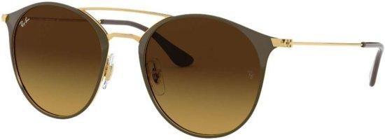 5e54c0422df2fa Ray-Ban RB3546 900985 - zonnebril - Goud-Bruin   Bruin Gradiënt - 49mm