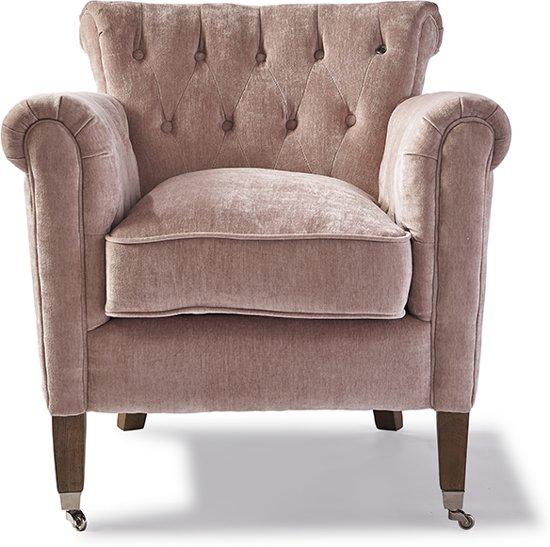 Rivera Maison Fauteuils.Riviera Maison Paramount Armchair Velvet Pink Fauteuils