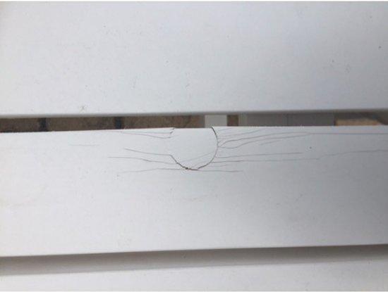 MaximaVida krukje en bijzettafel wit 60 cm