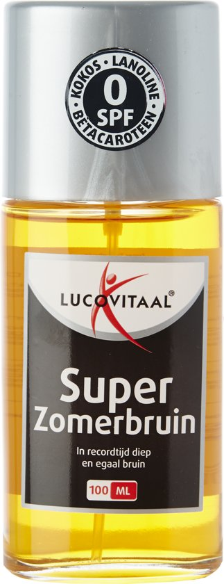 Lucovitaal - Super Zomerbruin - 100 milliliter - Bruiningsversneller