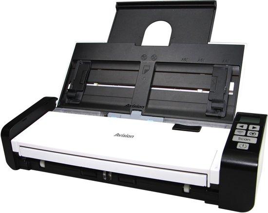 Avision AD215 scanner 600 x 600 DPI ADF-/handmatige invoer scanner Zwart, Wit A4