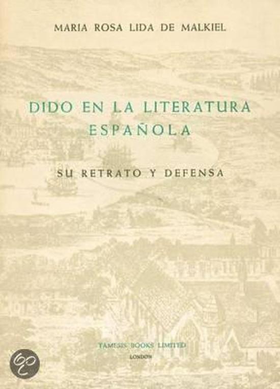 Dido en la Literatura espanola