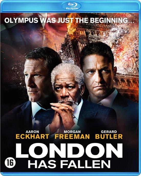 DVD cover van London Has Fallen (Blu-ray)