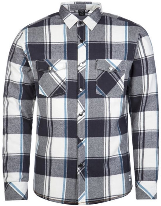 Protest TEETH Overhemd Heren - Asphalt - Maat XL