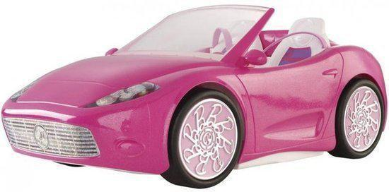 barbie glam cabrio barbie auto roze mattel. Black Bedroom Furniture Sets. Home Design Ideas