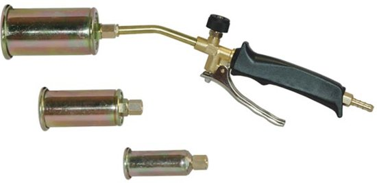 Lasbrander - 3 Verwisselbare Koppen