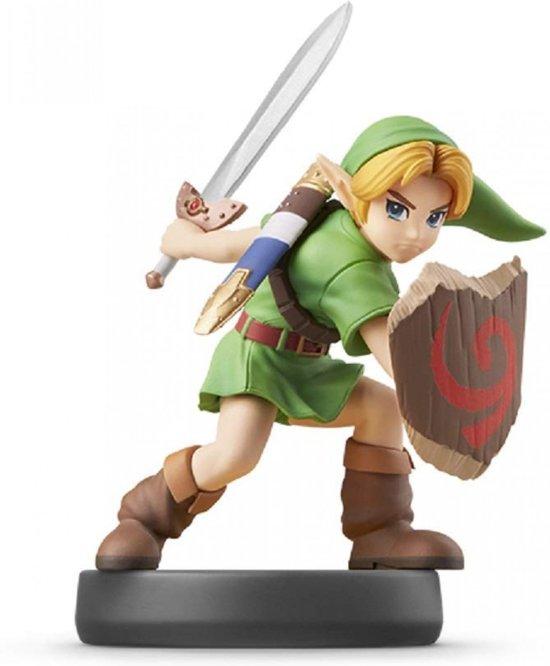 Cover van de game Amiibo, Young Link (Super Smash Bros. Series)