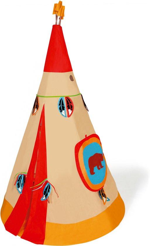 Scratch Diam Indianen Tipi Tent