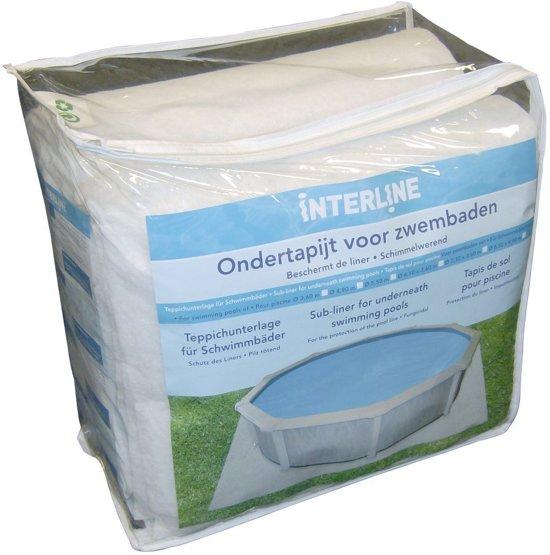 Interline Ondertapijt Ovaal 850×490 cm grondvilt