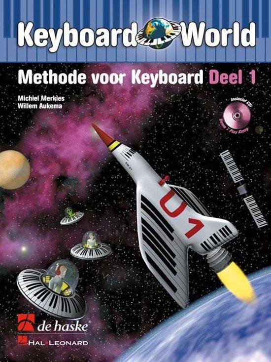 Boek cover Keyboard World - Deel 1 - Boek met Cd van M. Merkies (Onbekend)