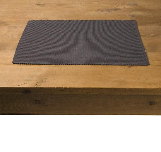 In The Mood Tivoli Placemat - 33x45 cm - 4 stuks - Antraciet