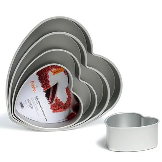 Hartvormige bakvorm, 35cm - Decora