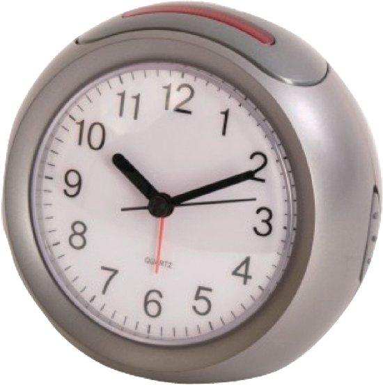 Alarm Clock Analogue Silver