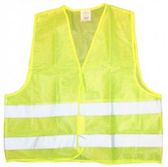 Veiligheidsvest geel | Verkeersveiligheid | Geel hesje | Veiligheidshesje auto | Reflecterend | Unisex | One size