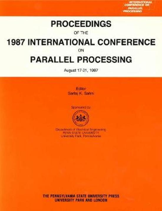 Proceedings of the International Conference on Parallel Processing