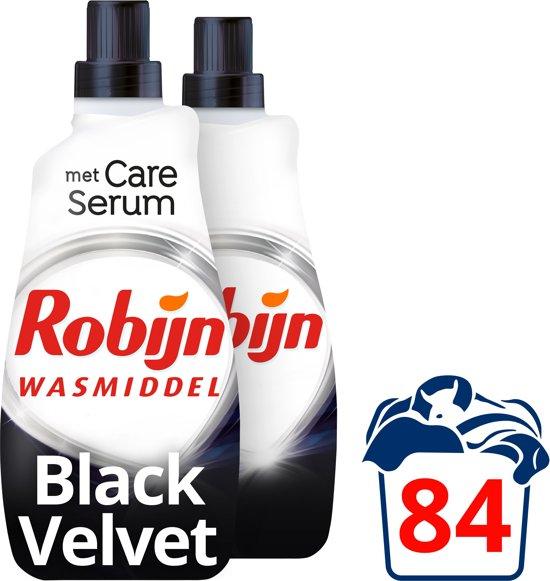 Robijn Black Velvet Klein & Krachtig Wasmiddel- 2x42 wasbeurten - 1, 47 l