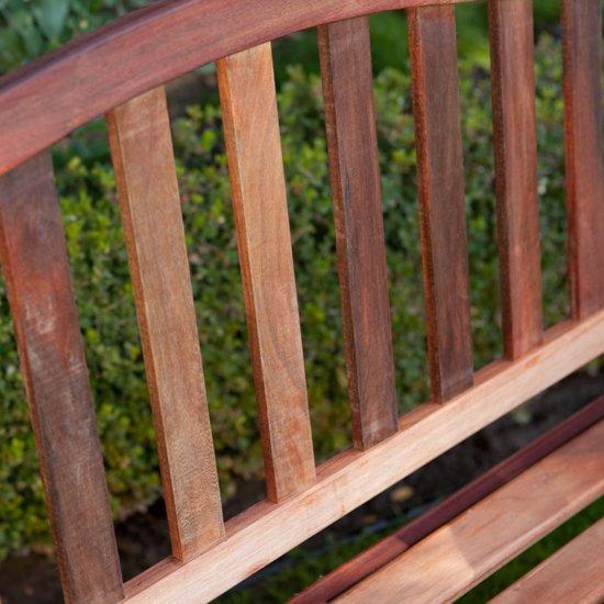 MaximaVida tuinbank Rainbow 130 cm- uit exclusief mahoniehout