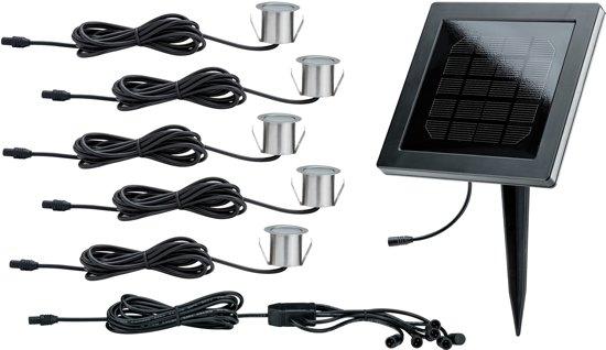 Speciaal Solarmodul set MiniSol bodem12V EBLIP675x0,2WEdelst./zwart Eds/kunststof