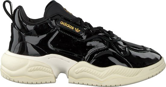 Adidas Dames Lage sneakers Supercourt Rx W Zwart Maat 40