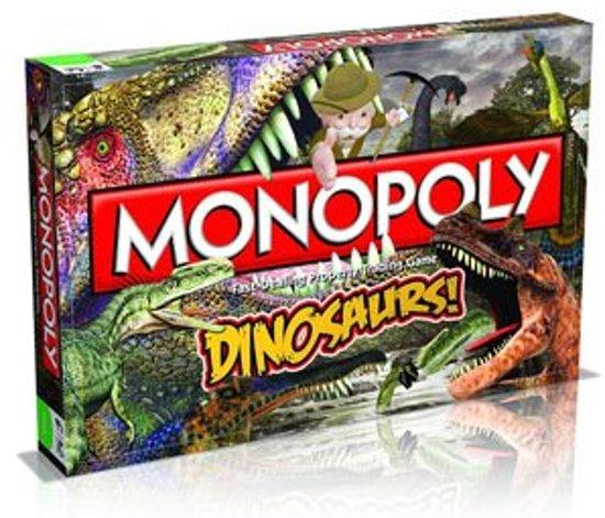 Dinosauriers Monopoly Bordspel - Dinosaurs