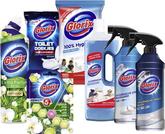 Badkamer & Toilet Schoonmaakpakket - 7 stuks - Voordeelverpakking