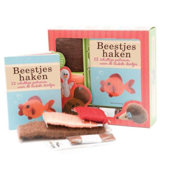 Bolcom Beestjes Haken Boek Box Onbekend 9789054261629 Boeken