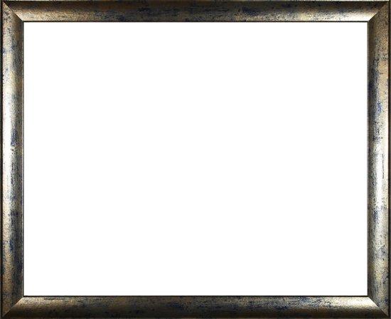 Homedecoration Colorado – Fotolijst – Fotomaat – 64 x 66 cm – Blauw goud gevlekt