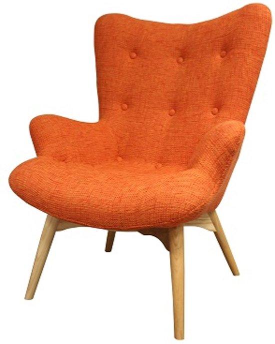 DS4U Zenie - fauteuil - knitted - orange