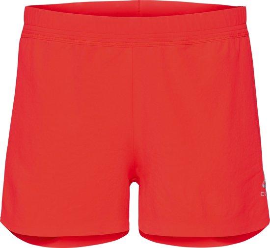 Odlo Hardloopbroek Zeroweight X-Light Shorts - Fiery Coral - L