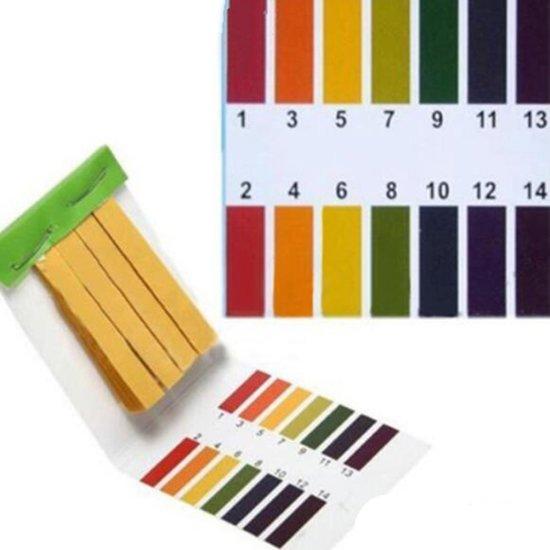 PH Lakmoes Papier / PH test strips PH 1-14 (10 boekjes van 80stuks ) voor het meten van PH waardes