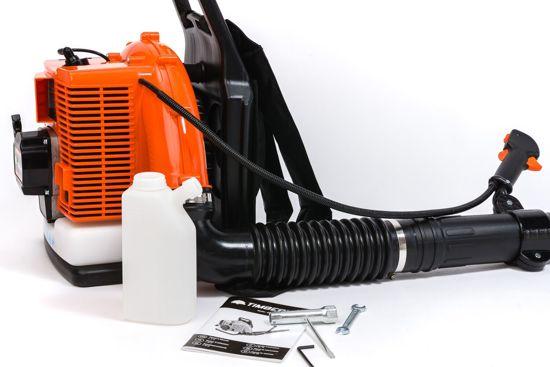 Timberpro Bladblazer benzine - Rug gedragen 85 cm³ 2-takt - blaassnelheid 400 km/h