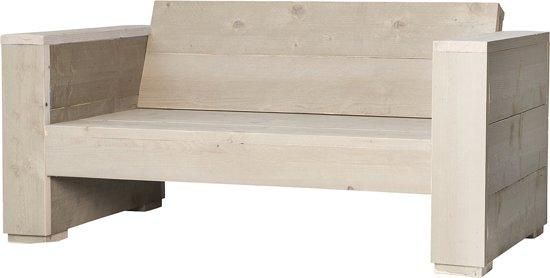 bol | steigerhouten - loungebank-massief-2-zits - 150 x 77 x 73